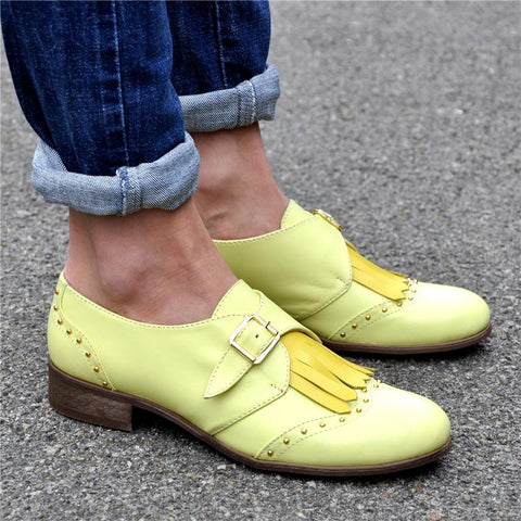 Women's Fashion Oxford Shoes