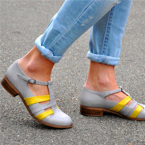 Duotone Hollow Leisure Casual Shoes