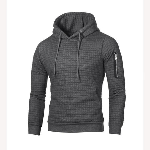 Men Plus Size Long Sleeve Casual Hoodies