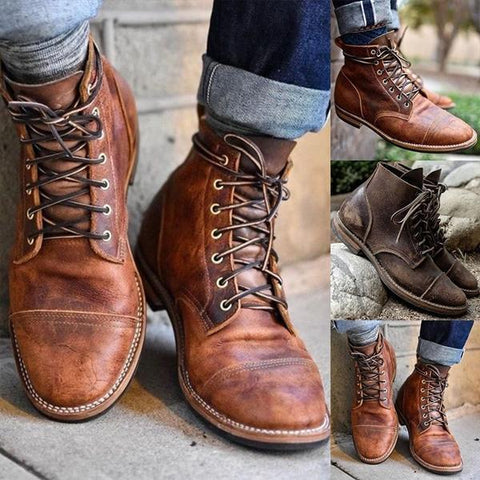 HOT Selling Big Size Leather Boots