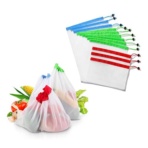 Reusable Produce Eco Bags (15pcs)