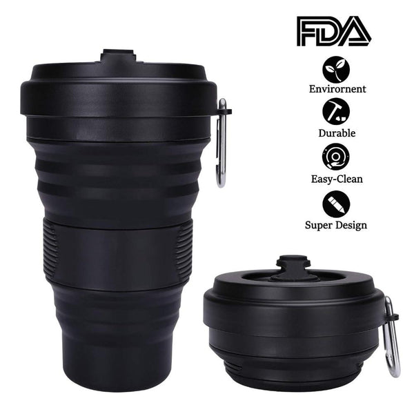 Collapsible Coffee Cup 550ml