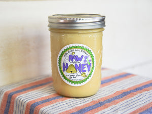 Raw Wildflower Honey - Pint