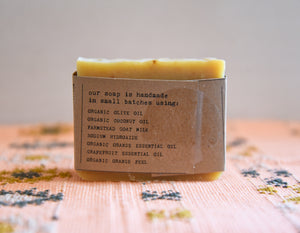 Goat's Milk Farmstead Soap - Citrus