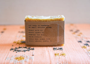 Goat's Milk Farmstead Soap - Lemongrass Stout