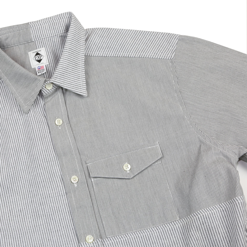 "906SC BUTTON DOWN SHIRTS  ""PINSTRIPE"""