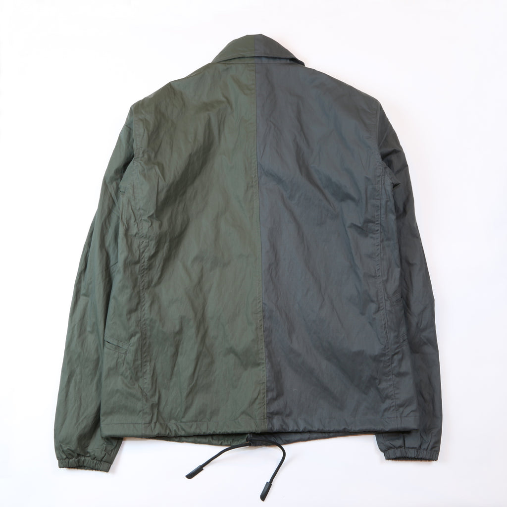 "907J COACH JACKET ""OG/ML GREEN"""