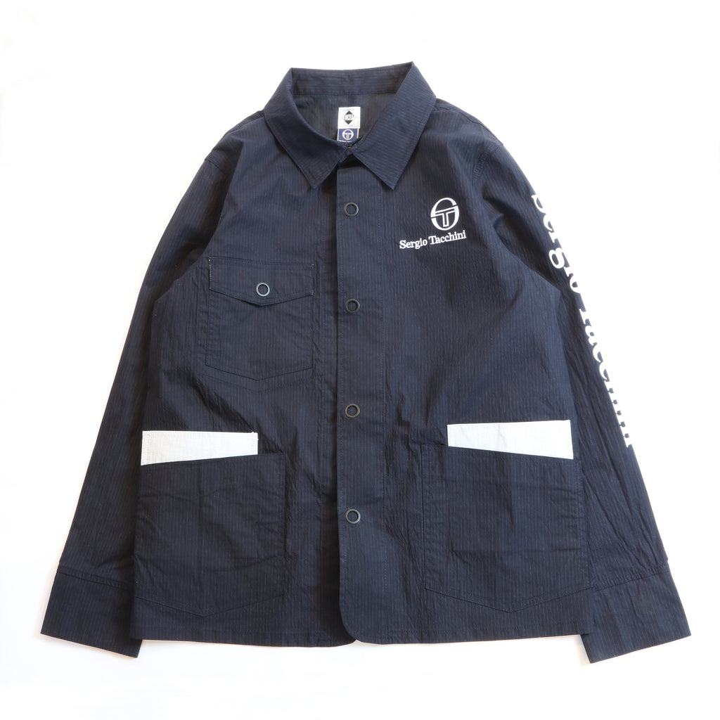 """Sergio Tacchini x EXPANSION NY""  BRONX RIVER JACKET ""NAVY"""