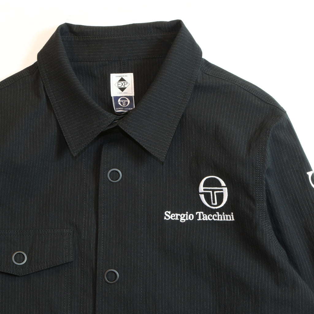"""Sergio Tacchini x EXPANSION NY""  BRONX RIVER JACKET ""BLACK"""