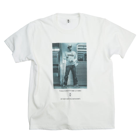 D.L FLUSHING 2004 TEE (WHITE) 受注生産 PRE ORDER