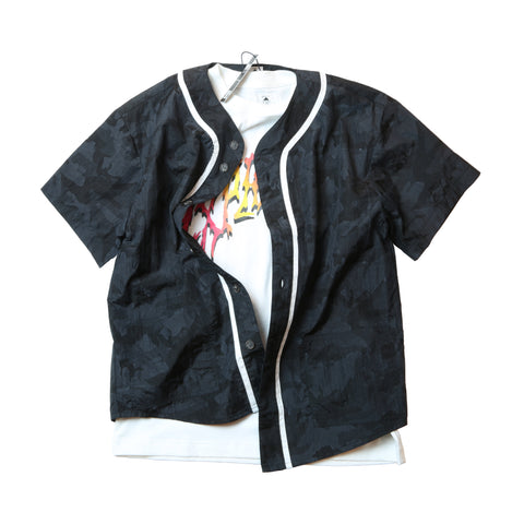 "EX-210S BASEBALL SHIRTS ""NAVY"""