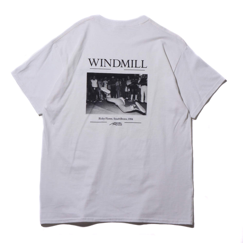 "095T WINDMILL T-SHIRTS ""WHITE"""