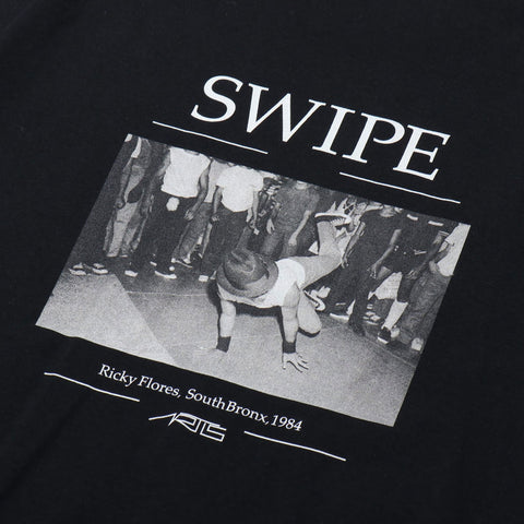 "096T SWIPE T-SHIRTS ""BLACK"""
