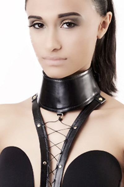 Lace-up Leather Harness