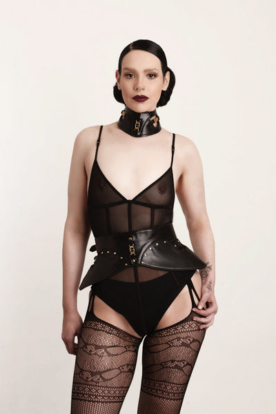 Luna Leather Corset Belt
