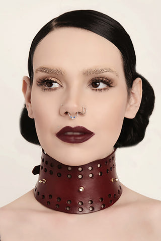 Siren Leather Choker