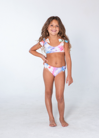 Kai Lani Mini Resort 20 Tie Dye Bow Bikini