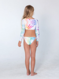 Kai Lani Mini Resort 20 Tie Dye Nancy Crop Bikini Set