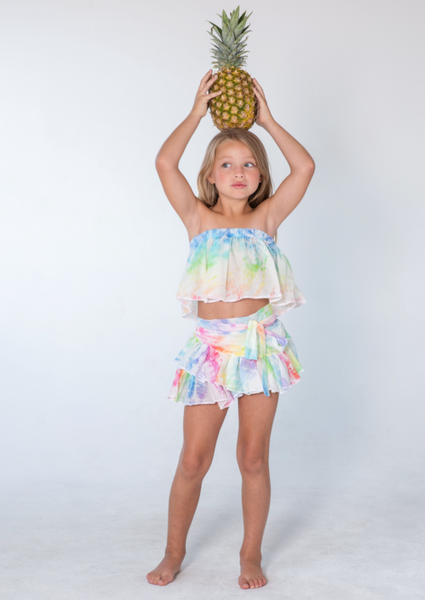 Kai Lani Mini Resort 20 Tie Dye Cha Cha Top