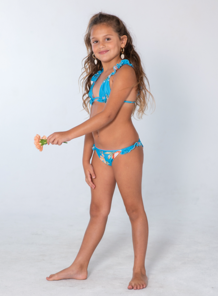 Kai Lani Mini Resort 20 Bouquet Scrunchie Bikini