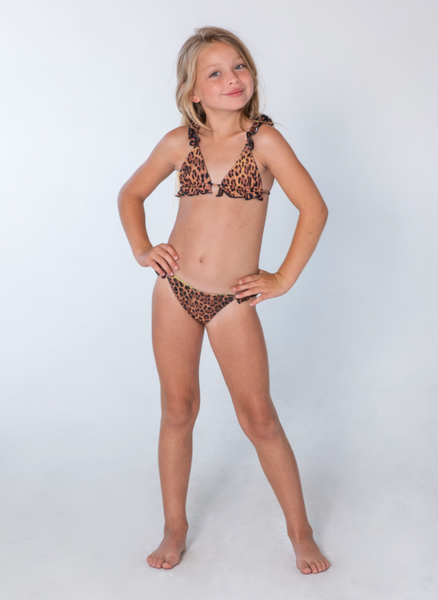Kai Lani Mini Resort 20 Animal Scrunchie Bikini