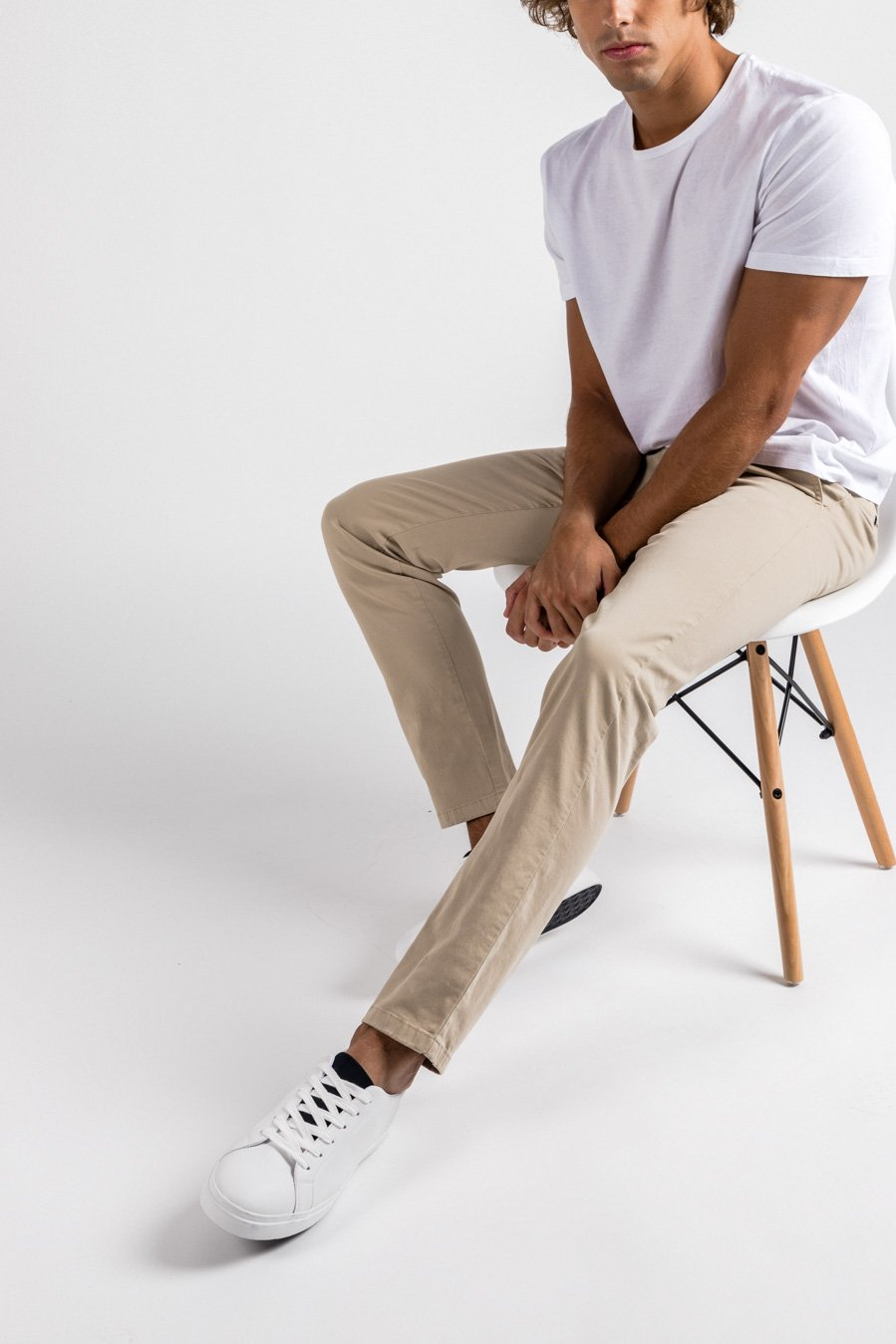 Washed Chino Extra Slim Sahara