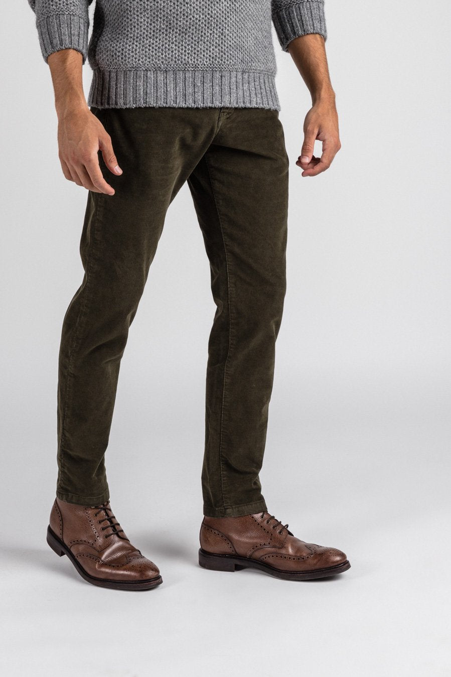 5 Pocket - Cordhose Hunter