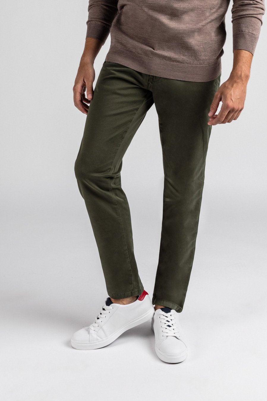 Washed Chino Regular Amazon