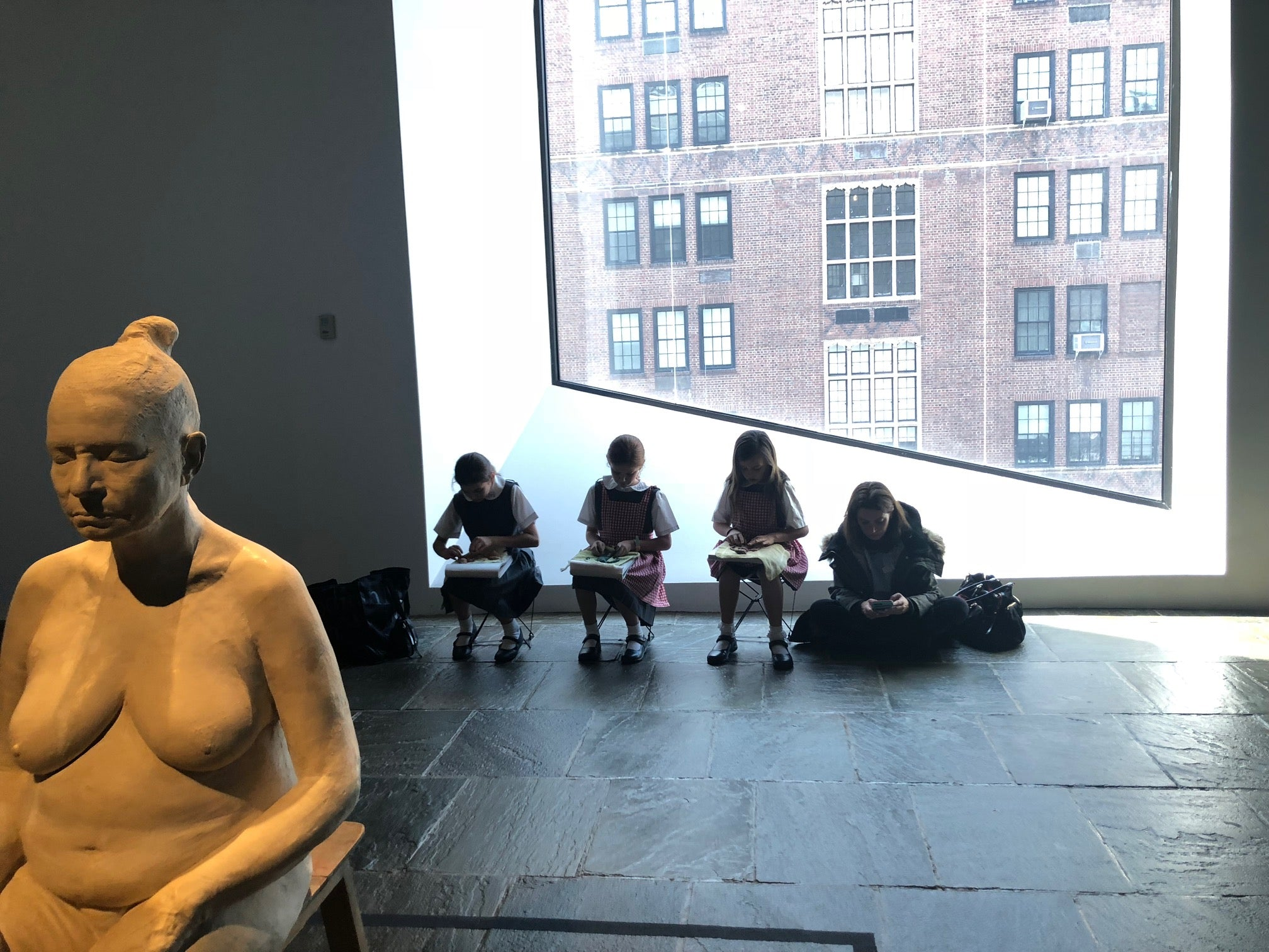 Met Breuer, Study of Human Body, VIP Group,