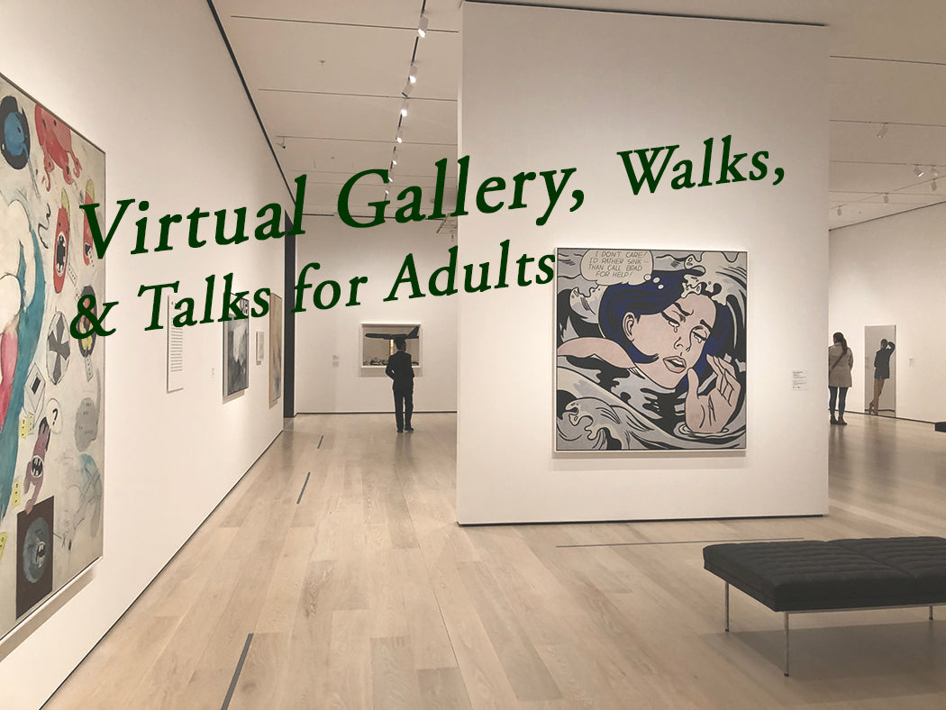 Special Promo: Virtual Gallery, Walks, & Talks for Adults