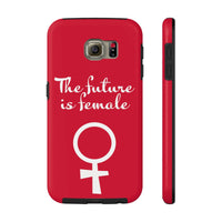 The future is female. Feminist symbol. Case Mate Tough Phone Cases, Phone Case, Triumph Design, Triumph Design