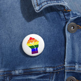 Resist! LGBTQ Pin Buttons, Accessories, Triumph Design, Triumph Design