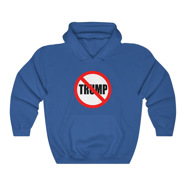 Stop Trump. Unisex Heavy Blend™ Hooded Sweatshirt, Hoodie, Printify, Triumph Design