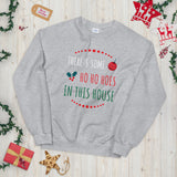 There's Some Hoes in This House Funny WAP Unisex Sweatshirt