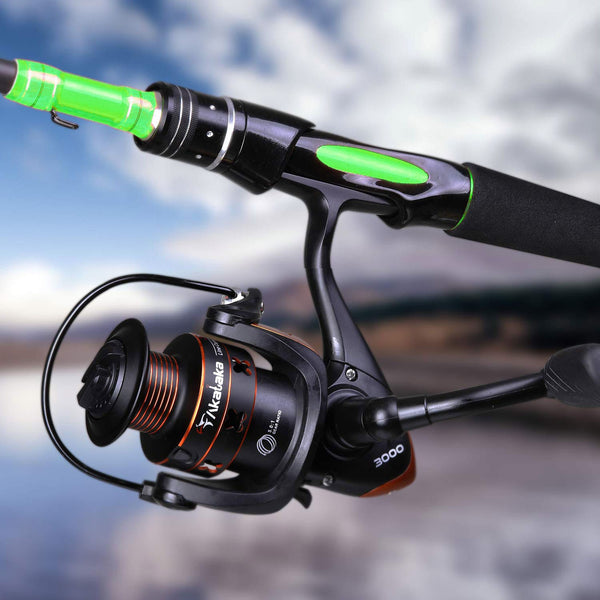 Spinning Fishing Reel and Rod Combo(US Only)