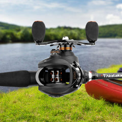 Baitcasting Fishing Reel 2000 and 2 Pcs Rod Combo(US Only)