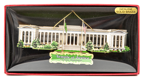 Temple of Justice Ornament