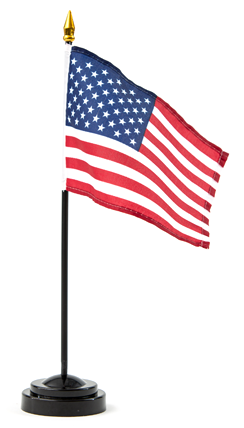 USA Mini Stick Flag