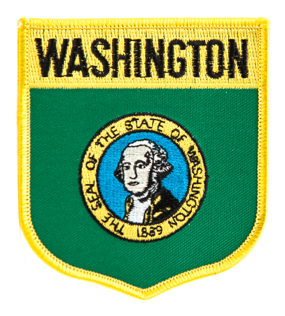 Washington State Shield Patch