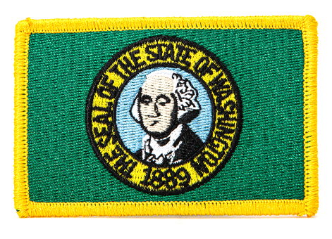 Washington State Flag Patch