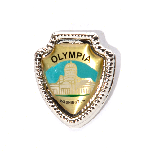 Olympia Shield Pin