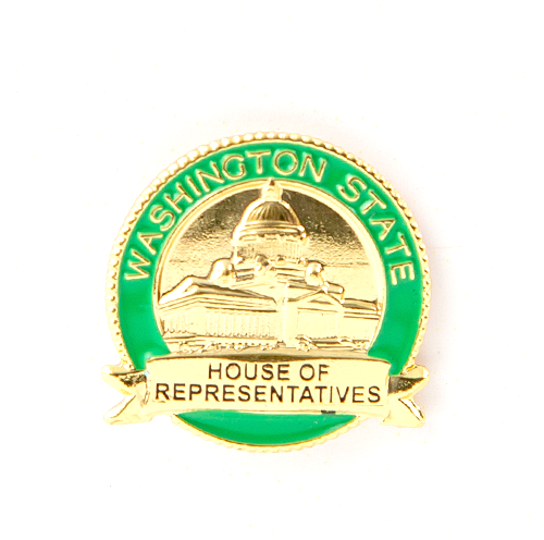 House Lapel Pin