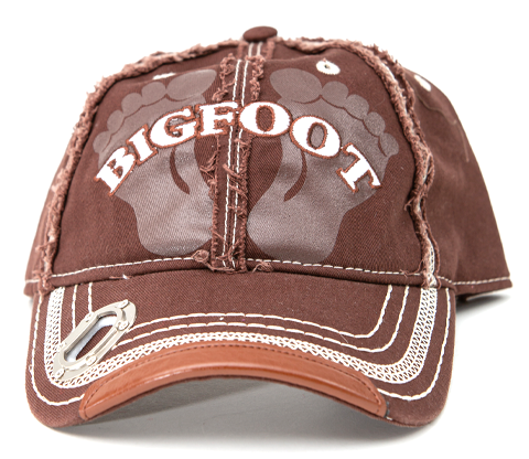Bigfoot Bottle Opener, Hat