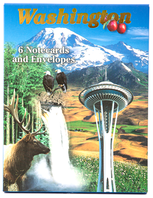 Washington State Note Cards