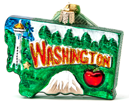Washington Ornament