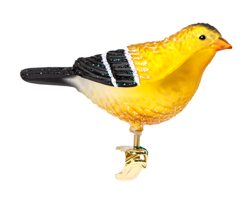 Goldfinch Clip Ornament