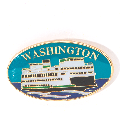 Washington Ferry Pin
