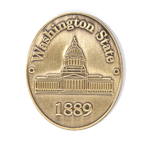 Brass Capitol Pin