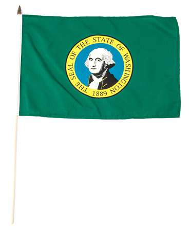 Washington Stick flag