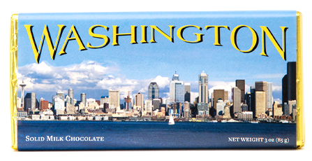 Washington Milk Chocolate Bar